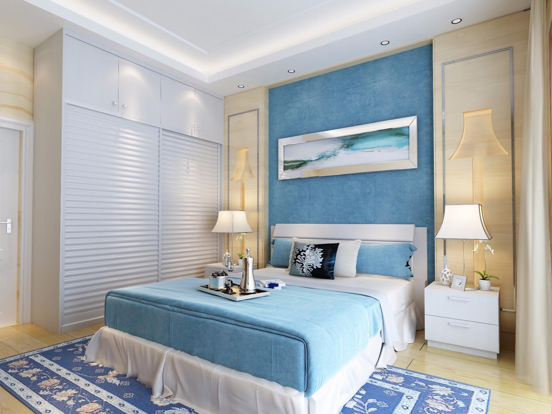 床+床头柜—银杏