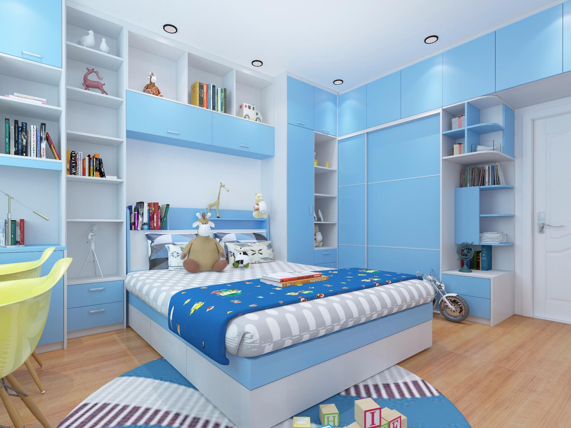 衣柜—蓝色