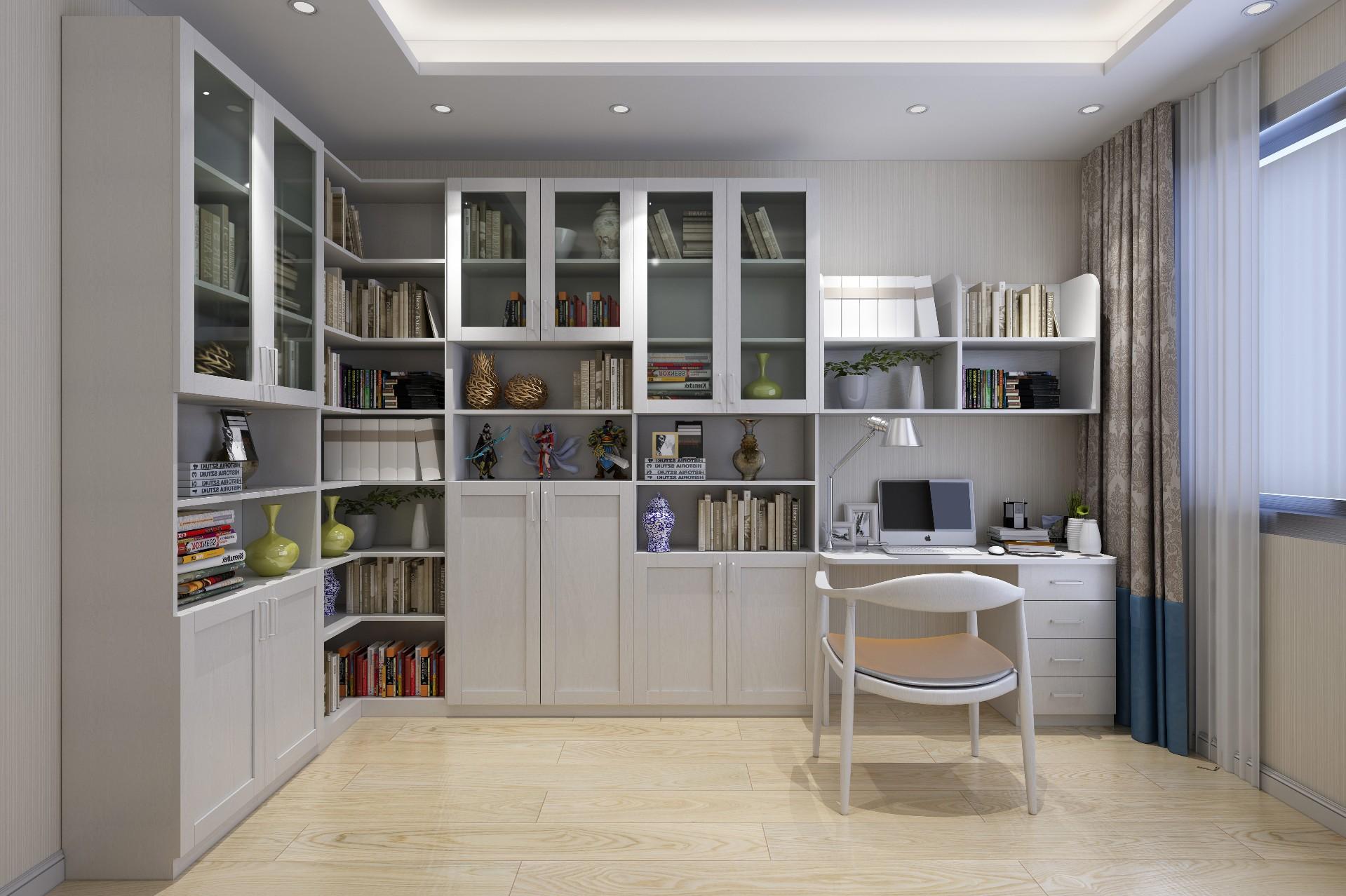 书柜—水洗橡