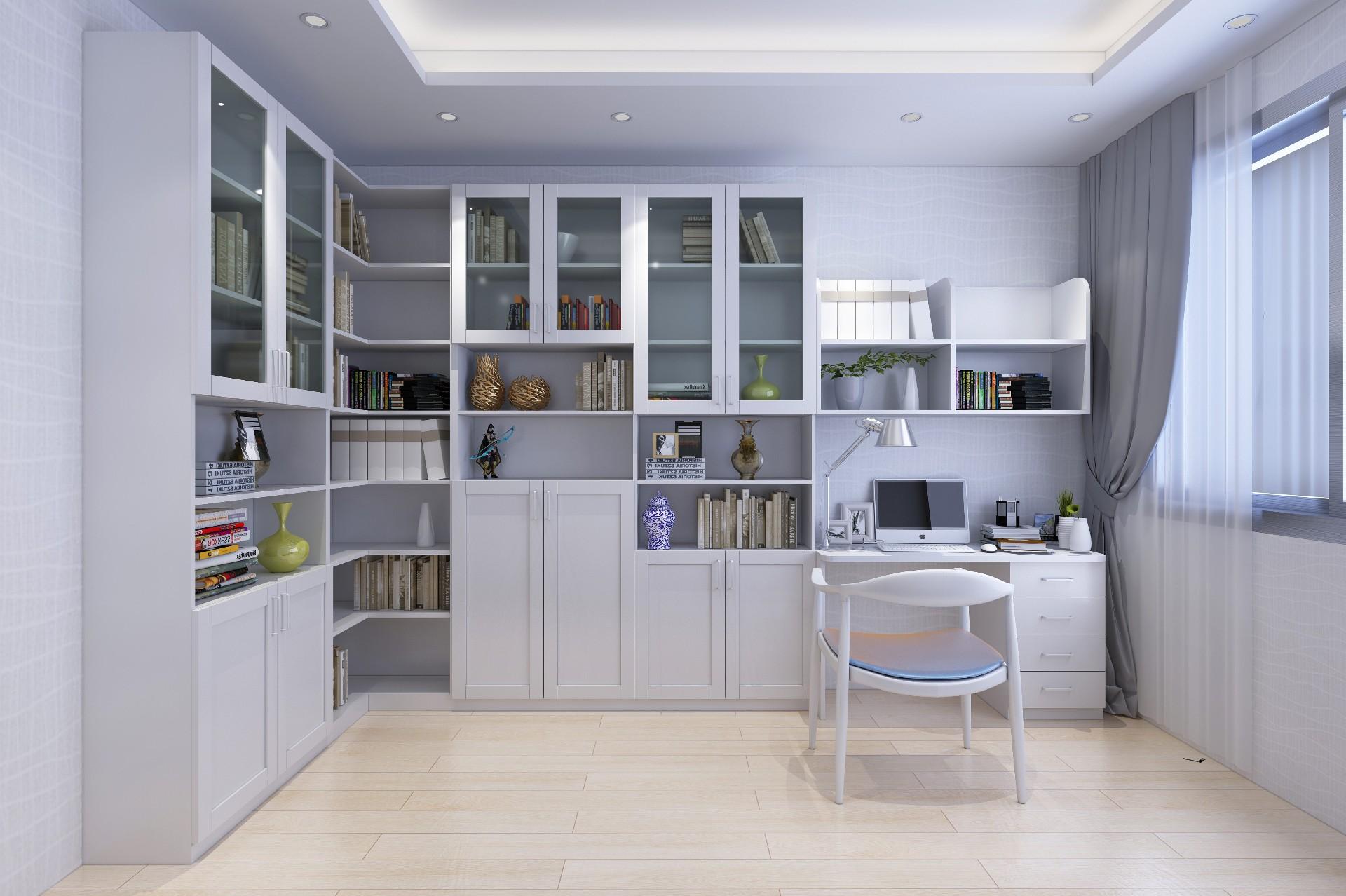 书柜—暖白