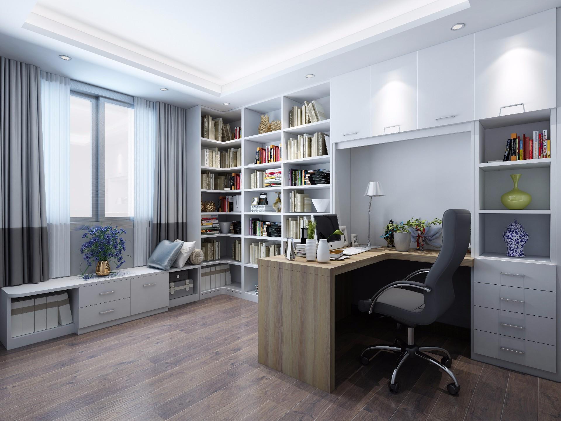 书桌椅—白蜡木