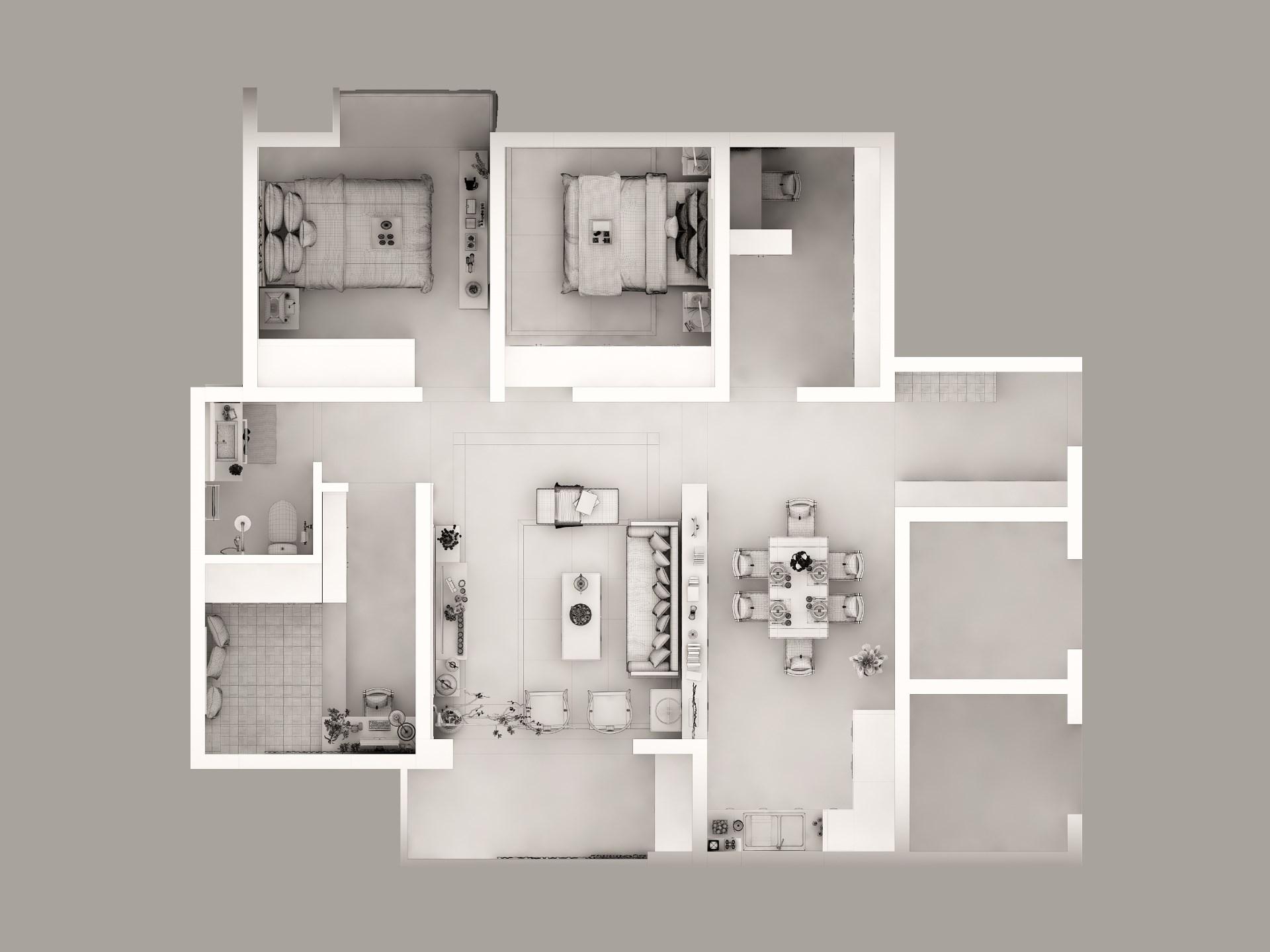现代简约空间