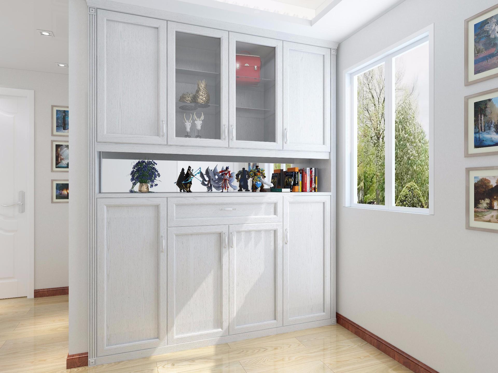 玄关柜—水洗橡