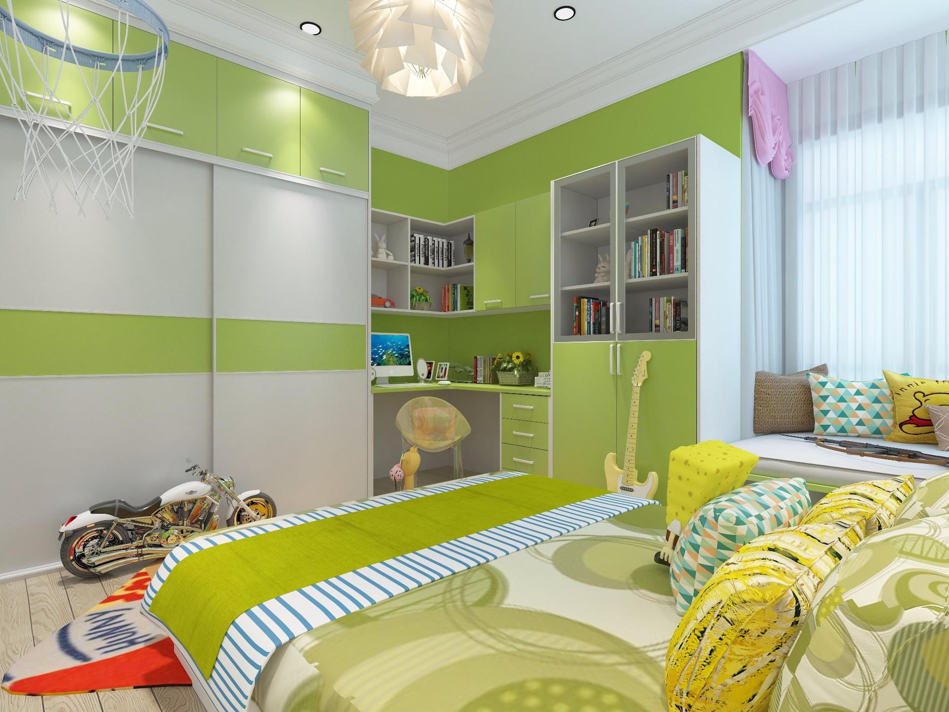 书柜—草绿色